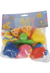 Animalitos para el Baño 8 piezas