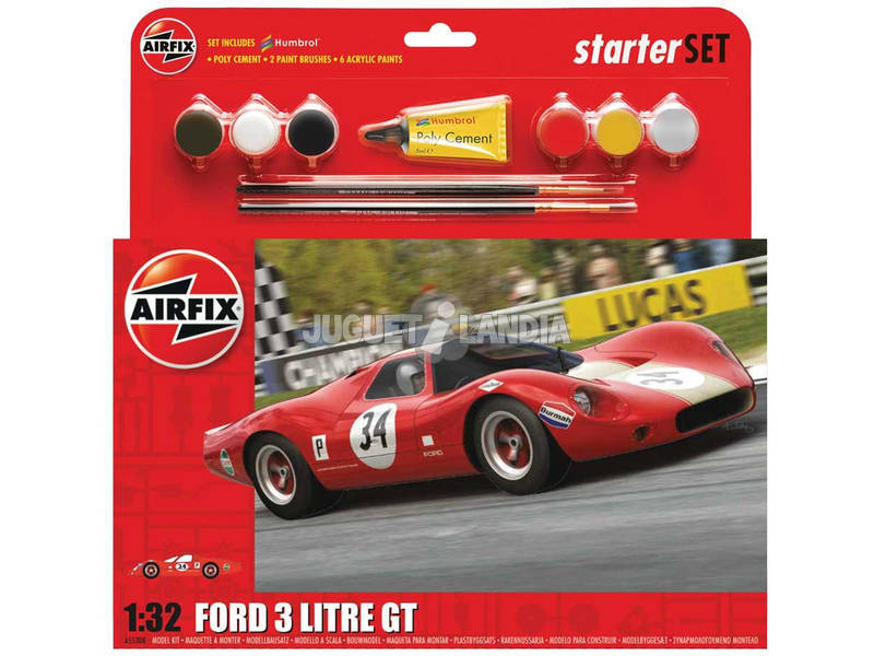 Maquete 1:32 Ford 3 litre GT