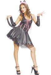Costume Gattina Sexy Donna L