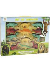 Set Dinosaures 14 Piéces
