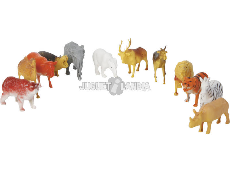 Set Animais Selva Peças