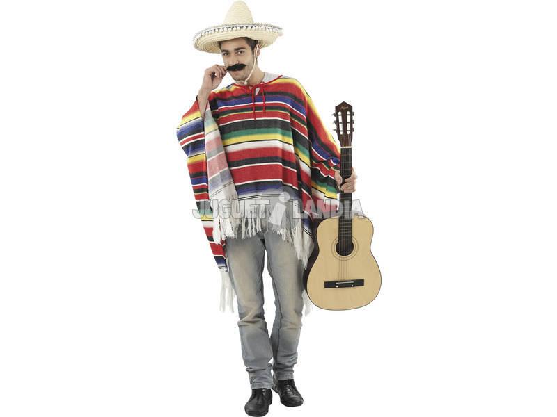 Disfraz Mejicano Hombre Talla L