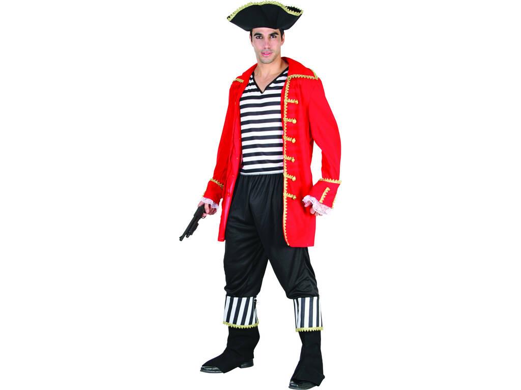 Fantasia Pirata Marinheiro Homem Tamanho XL