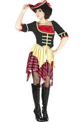 Costume Bucaniere Righe Donna L