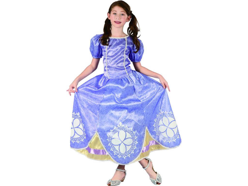 Disfarce Princesa Lilás Menina Tamanho XL
