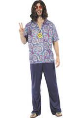 Déguisement Hippie Homme Taille M