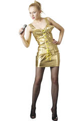Maschera Star del Rock Anni 80 Donna Taglia XL