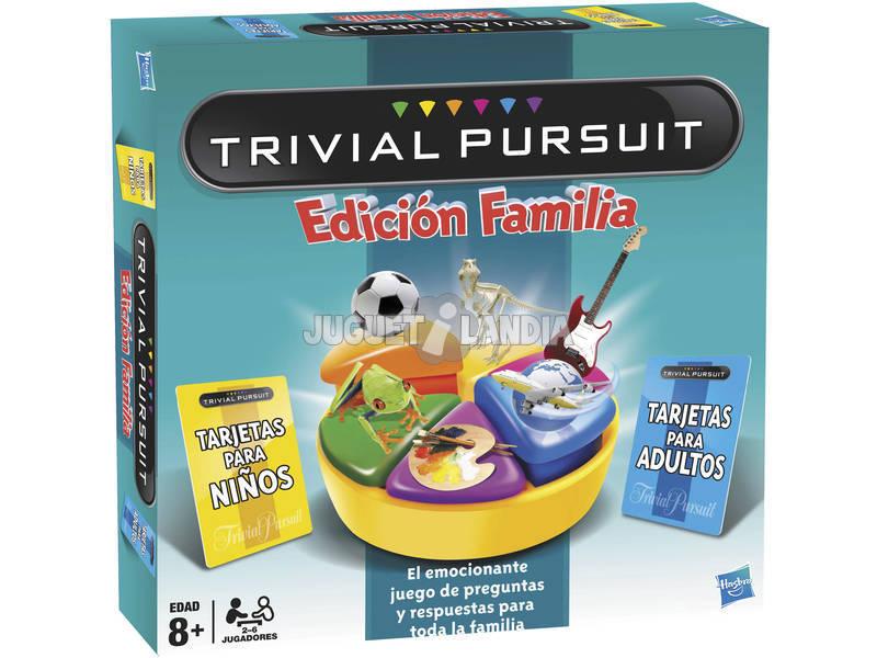 Juego Mesa Trivial Pursuit Edición Familia Hasbro Gaming 73013793