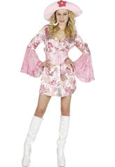 Costume Ragazza Flower Con Gonna Donna L