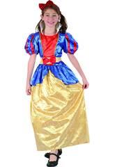 imagen Disfraz Princesa Niña Talla L