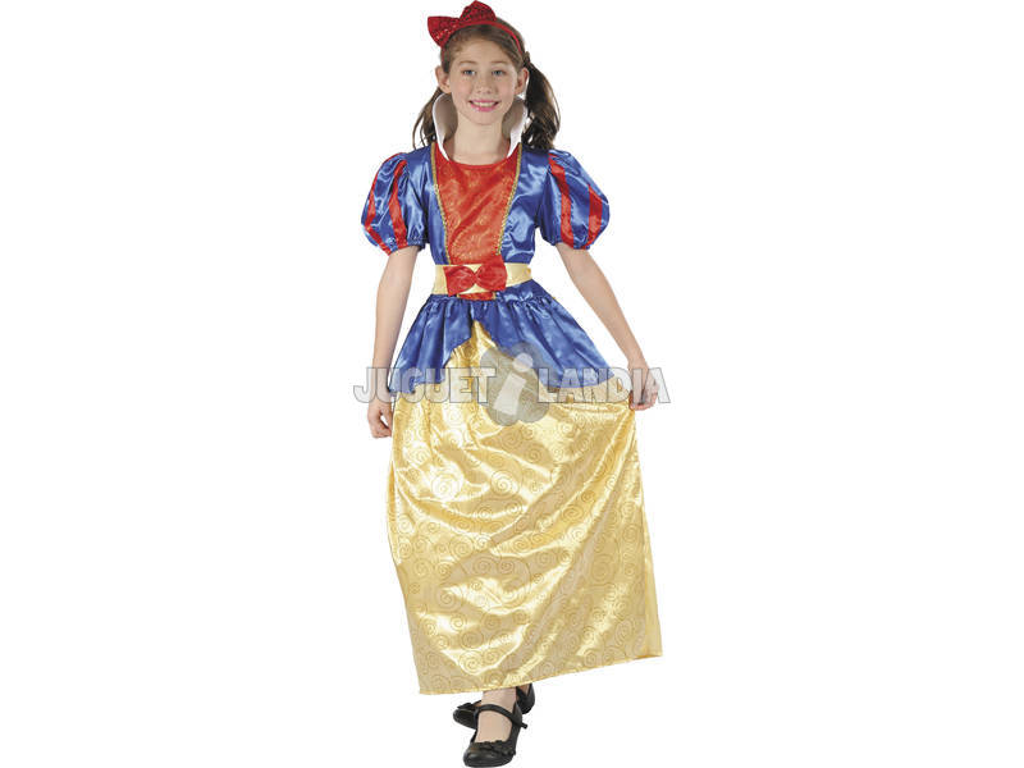 Disfraz Princesa Niña Talla XL