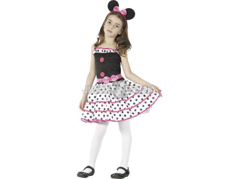 Disfraz Ratoncita Niña Talla M