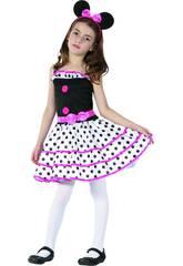 imagen Disfraz Ratoncita Niña Talla XL
