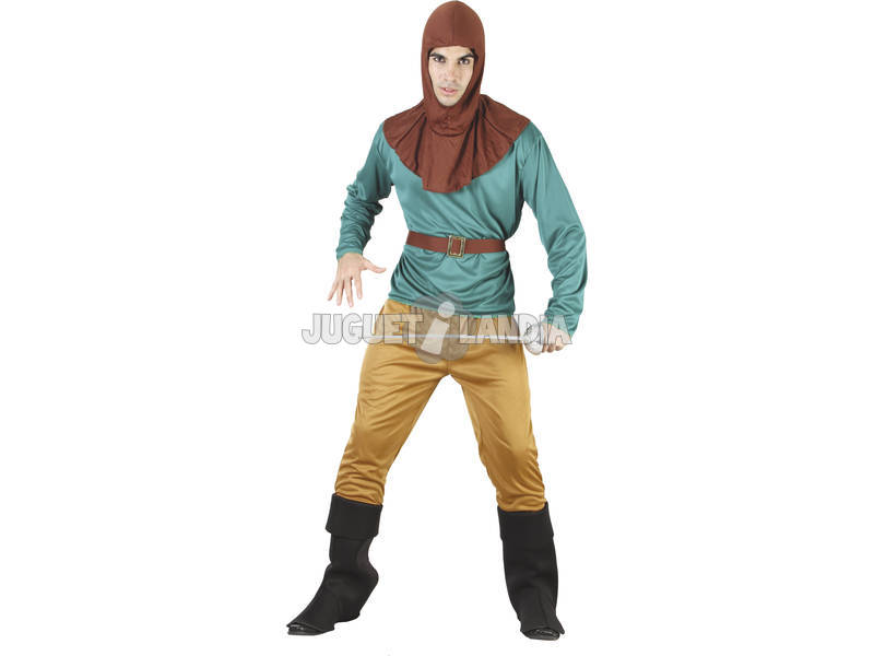 Fantasia Robin Hood Homem Tamanho L