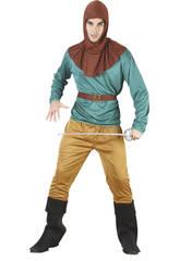 Fantasia Robin Hood Homem Tamanho XL