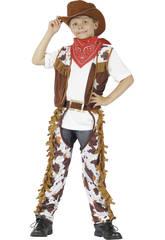 Disfraz Vaquero Niño Talla S