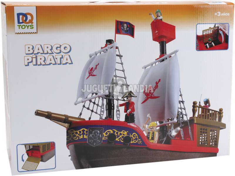 Barco Pirata Con Figuras