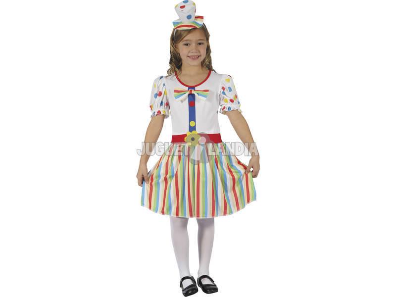 Disfraz Payasa Niña Talla L