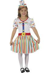 Costume Pagliaccio Ragazza XL