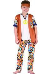 Déguisement Hippie Garçon Taille S