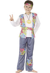 Costume Hippie Ragazzo M