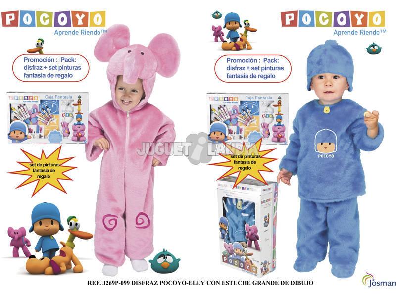 Disfraz Baby Pocoyo T-2
