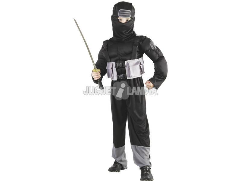 Déguisement de ninja pour garçon taille S