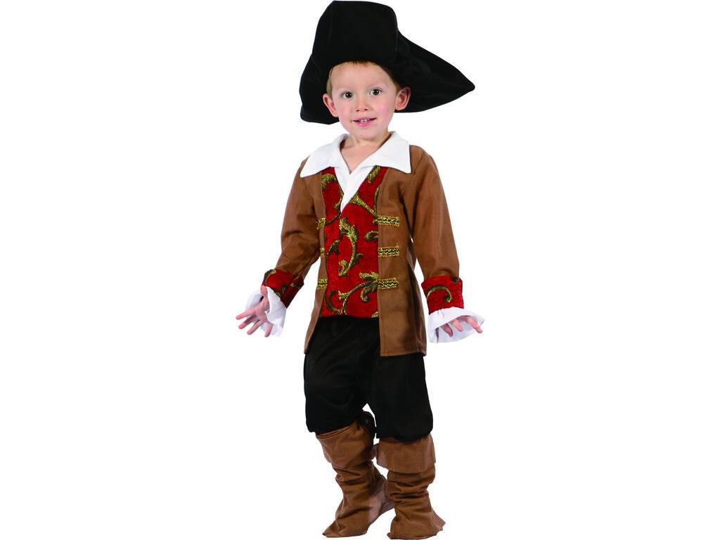 Disfraz Pirata para Bebé Talla S