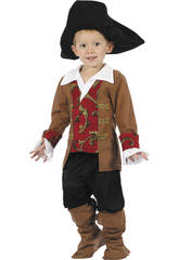 Costume Pirata per Bimbo Taglia S