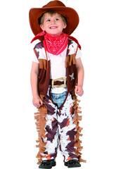imagen Disfraz Vaquero para Bebé Talla S