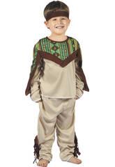 imagen Disfraz Indio para Bebé Talla S