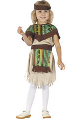 Costume Bimba Indiana taglia S