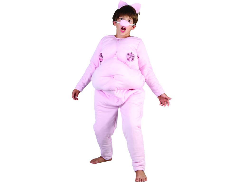 Disfraz Cerdito Niños Talla M
