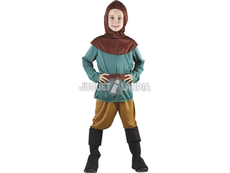 Fantasia Robin Hood Meninos Tamanho S