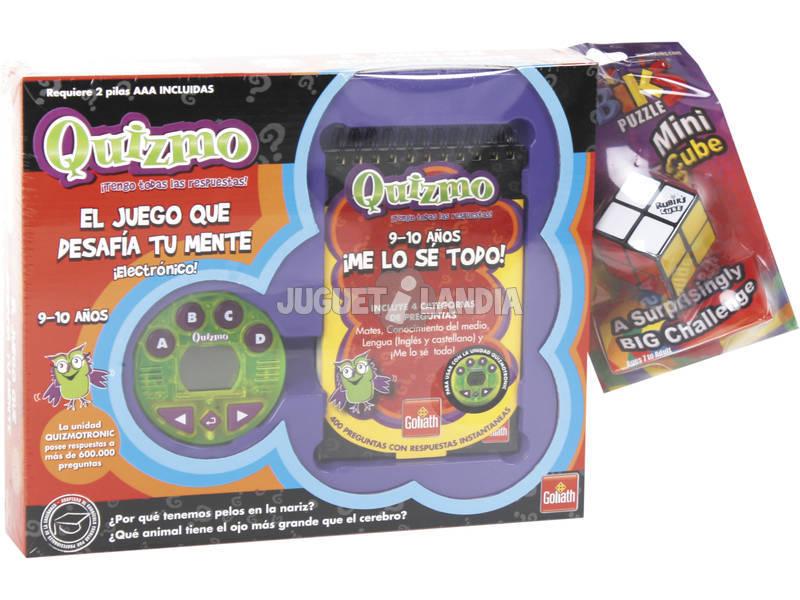 Quizmo 9-10 Años + 1 Rubik 2x2