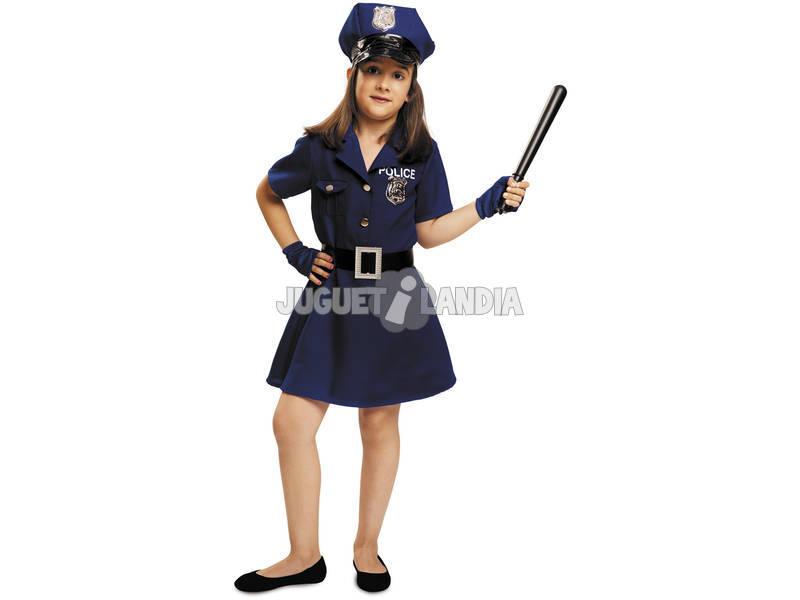 Fantasia Menina XL Policial