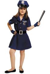 Disfraz Niña XL Policia