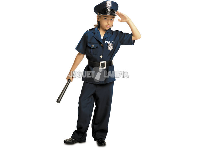 Disfarce Menino L Policial