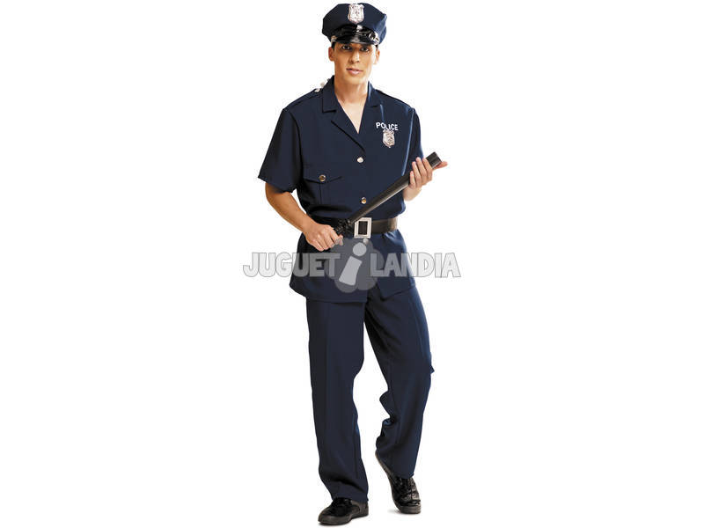 Disfarce/Fantasia Homem L Polícia