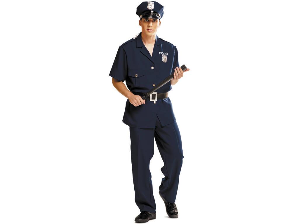 Disfraz Hombre S Policía con Gorro