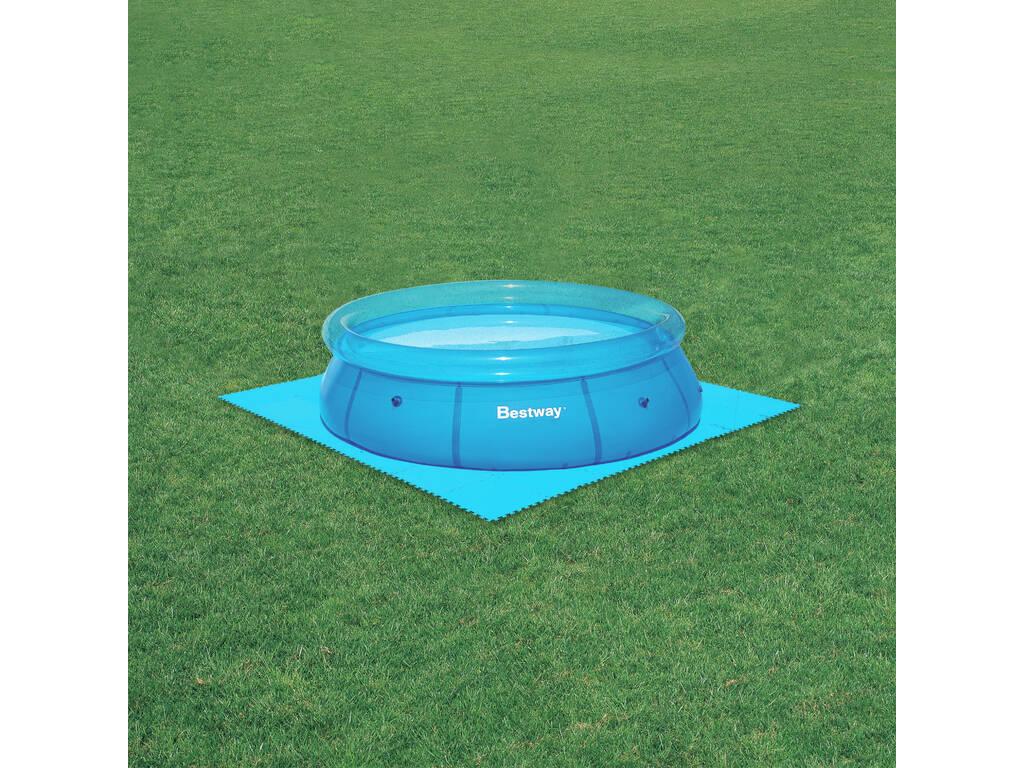 Suelo protector 50x50 cm bestway 58220 juguetilandia for Protector suelo piscina