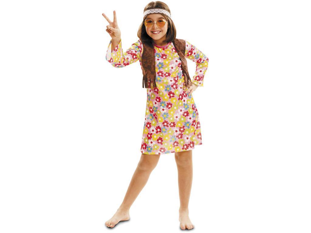 Disfraz Niña XL Hippie Primavera