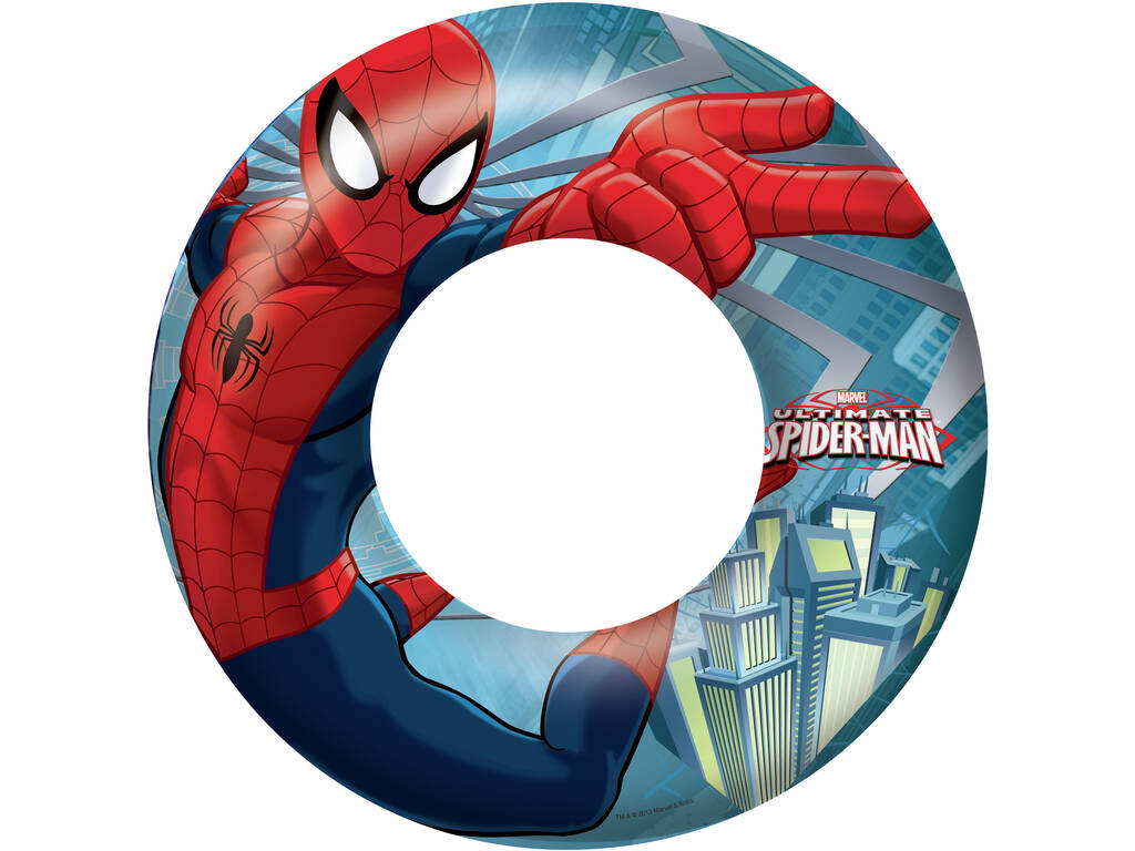 Flotador Hinchable Spiderman 56 Cm Bestway 98003