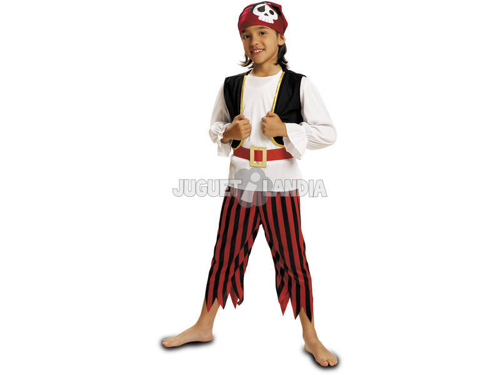 Fantasia Menino Pirata Caveira L
