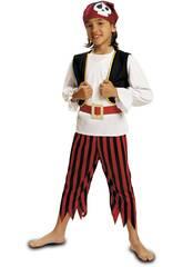 imagen Disfraz Niño XL Pirata Calavera