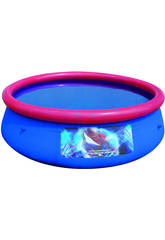 Piscina desmontable 244x66 cm. Spiderman
