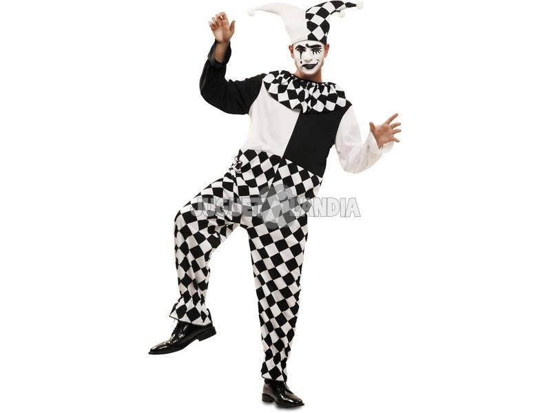 Disfraz Hombre L Arlequín con Sombrero