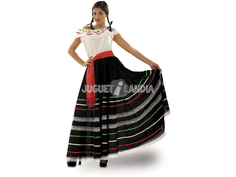 Disfraz Mujer L Mejicana