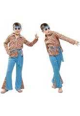 Disfraz Niño L Hippie Psicodélico