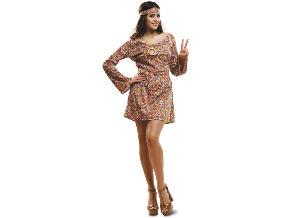 Costume Donna L Hippy Psichedelica